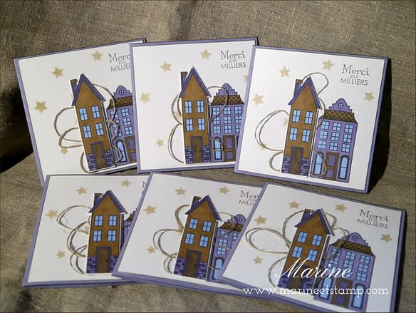 Marine Wiplier StampinUp - Comme chez nous