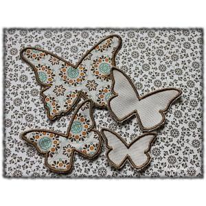 Papillons Scrapbroderie