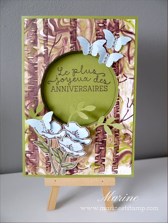 StampinUp - Marine Wiplier - Totally Techniques - Janv16