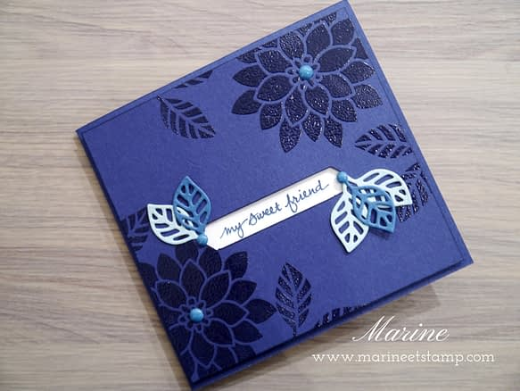 StampinUp - Marine Wiplier - Stamping Techniques 101 - Nov16-2