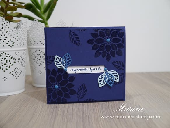 StampinUp - Marine Wiplier - Stamping Techniques 101 - Nov16
