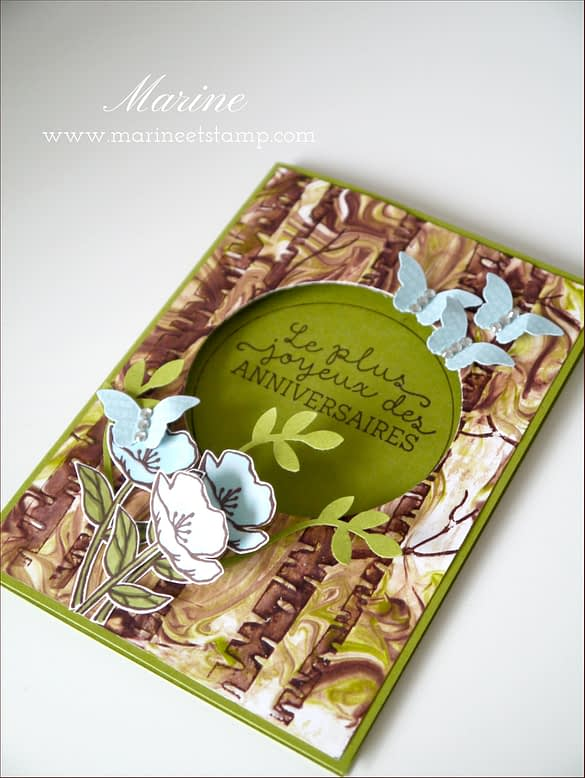 StampinUp - Marine Wiplier - Totally Techniques - Janv16-2