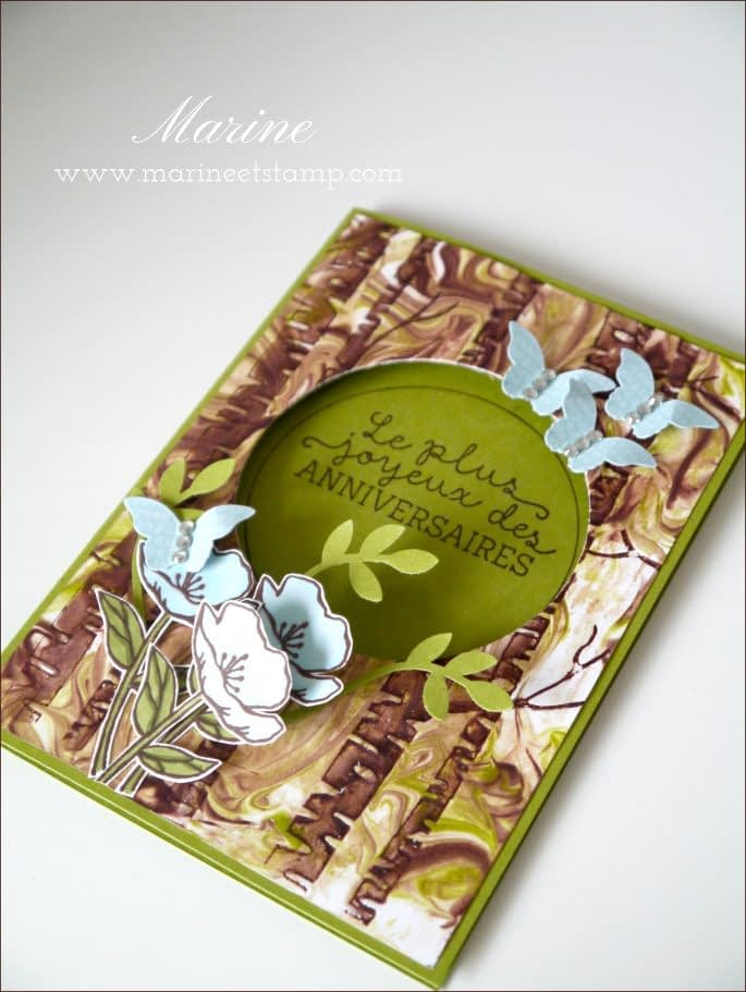StampinUp – Marine Wiplier – Totally Techniques – Janv16-2