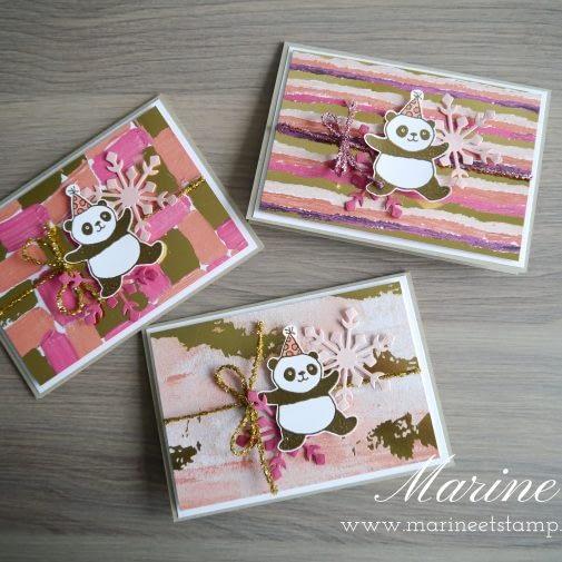 StampinUp – Marine Wiplier – Pandas festifs2